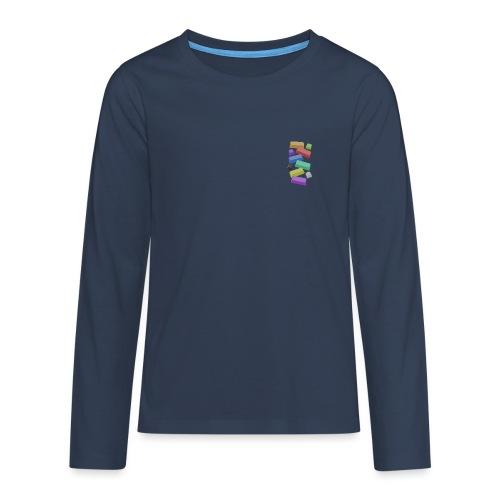 SA Mechanical Keyboard Keycaps Motif - Teenagers' Premium Longsleeve Shirt