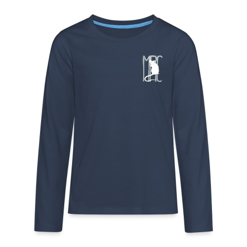MRC-White - Teenagers' Premium Longsleeve Shirt