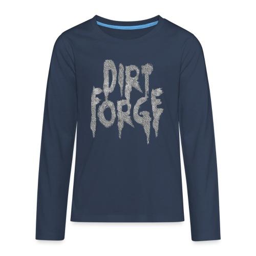 Dirt Forge Gravel t-shirt - Teenager premium T-shirt med lange ærmer