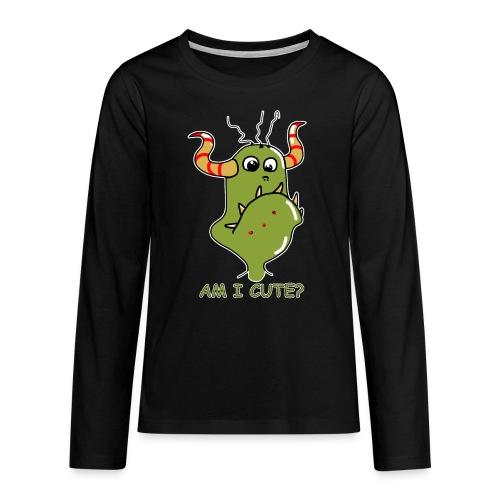 Cute monster - Teenagers' Premium Longsleeve Shirt