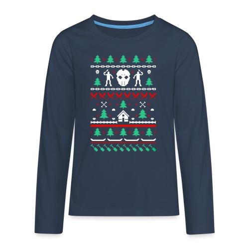 Ugly Friday 13th Crystal Lake - T-shirt manches longues Premium Ado