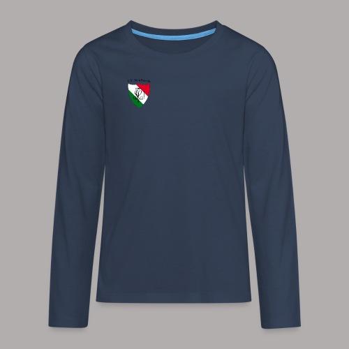 Wappen Struthonia (vorne) - Teenager Premium Langarmshirt