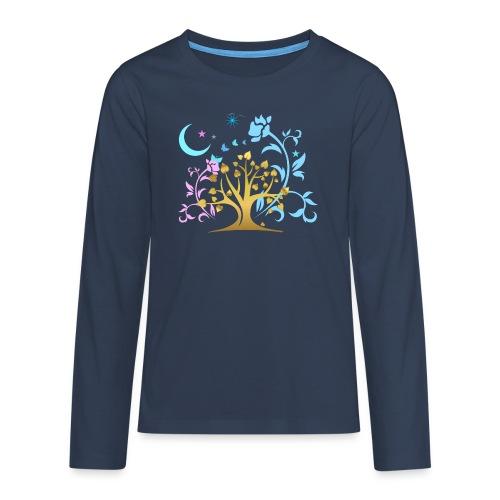Mystic Tree - Teenager Premium Langarmshirt
