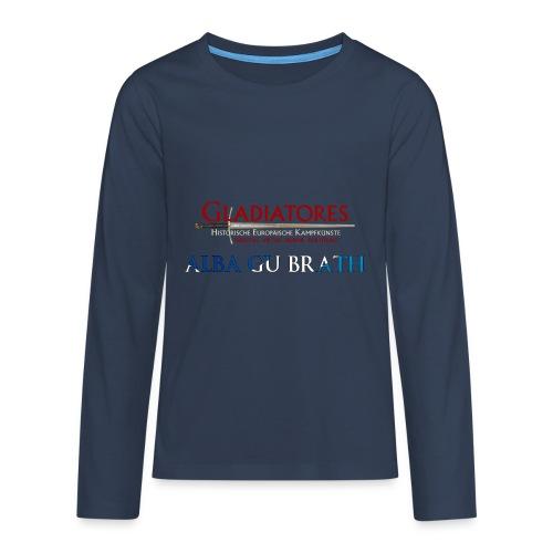 ALBAGUBRATH - Teenager Premium Langarmshirt