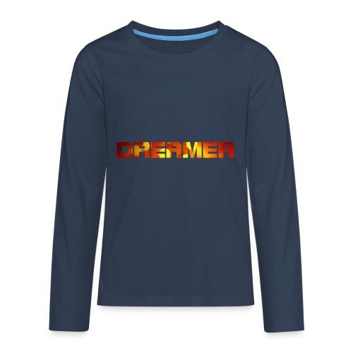 dreamer - Teenager Premium Langarmshirt