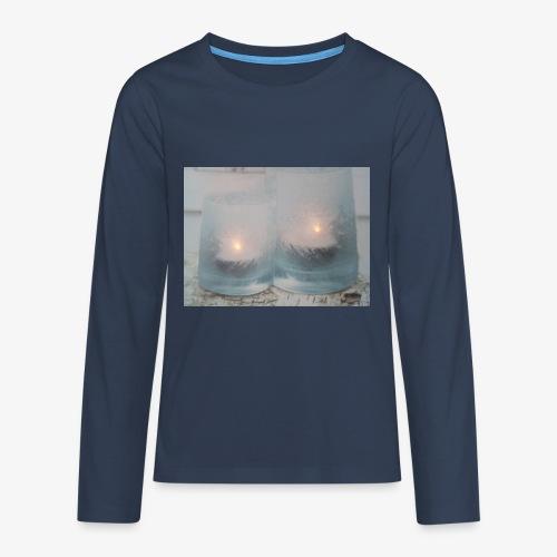 Selectie kaarslicht - Teenager Premium shirt met lange mouwen