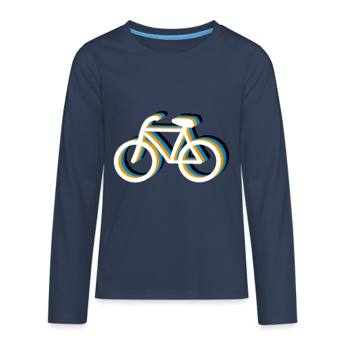 Bicycle Fahrrad - Teenager Premium Langarmshirt