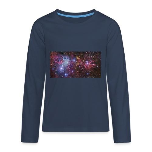 Stjernerummet Mullepose - Teenager premium T-shirt med lange ærmer