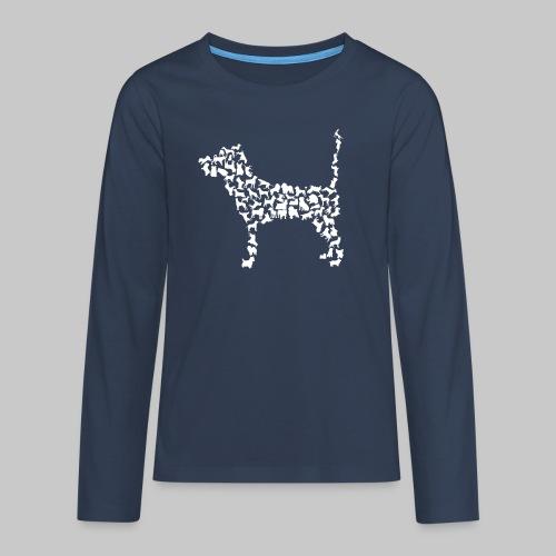 Hunde Kollage - Teenager Premium Langarmshirt