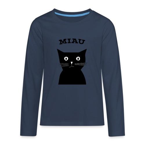 Katze - Teenager Premium Langarmshirt