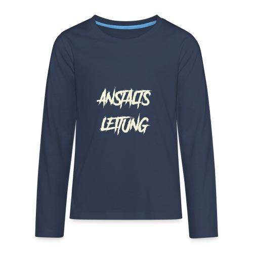 Anstaltsleitung - Teenager Premium Langarmshirt