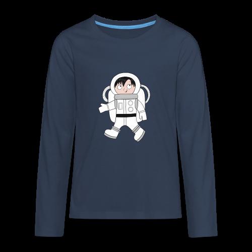 Astronaut - Teenager Premium Langarmshirt
