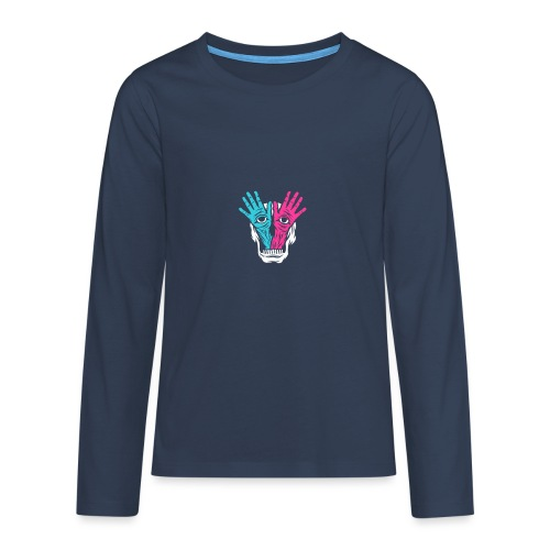 Feckers Logo - T-shirt manches longues Premium Ado