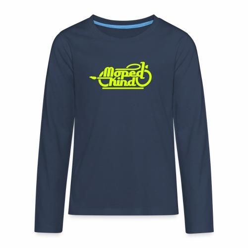 Moped Kind / Mopedkind (V1.0) - Teenagers' Premium Longsleeve Shirt