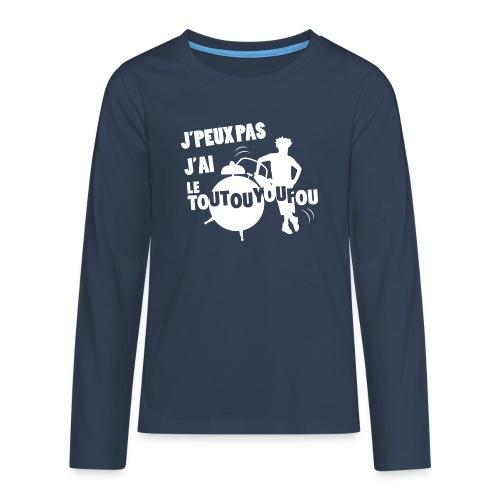 JPEUXPAS BLANC - T-shirt manches longues Premium Ado