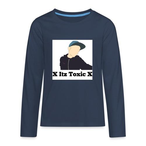X Itz Toxic X Shirt - Teenagers' Premium Longsleeve Shirt