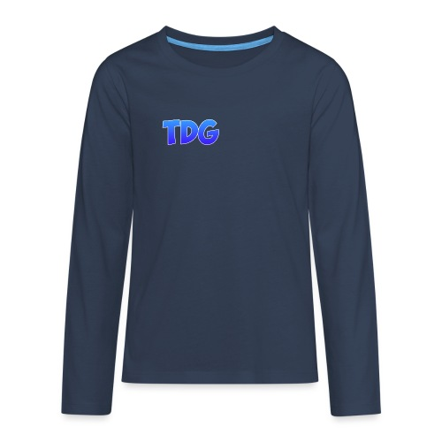 TimoDoGames merch - Teenager Premium shirt met lange mouwen