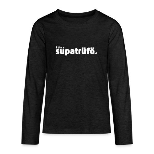 supatrüfö - Teenager Premium Langarmshirt