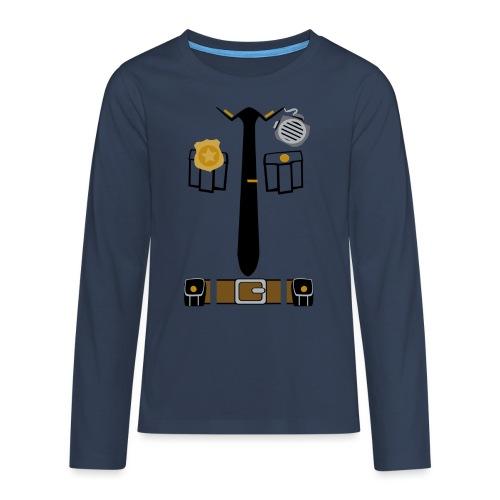 Police Patrol Costume - Teenagers' Premium Longsleeve Shirt