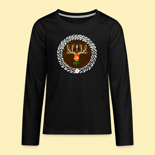 Médaillon de Neved - T-shirt manches longues Premium Ado