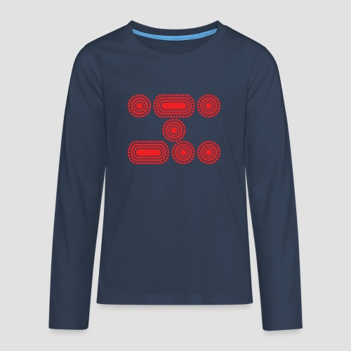 CODE RED - Teenagers' Premium Longsleeve Shirt