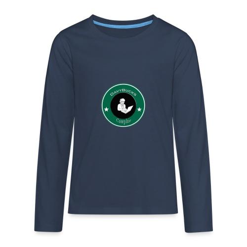 DavyBucks - Teenager Premium shirt met lange mouwen