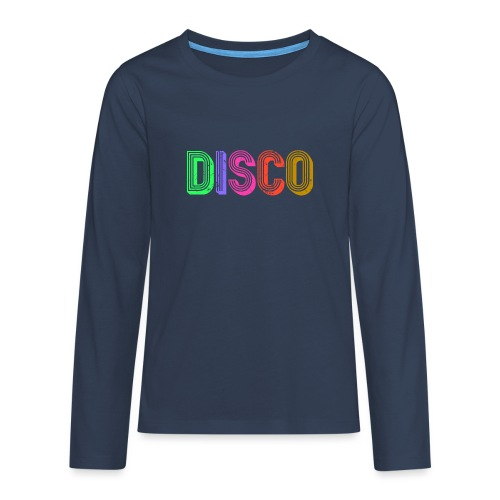 DISCO - Teenager Premium Langarmshirt