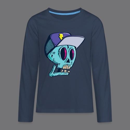 Death Tee Shirts - Teenagers' Premium Longsleeve Shirt