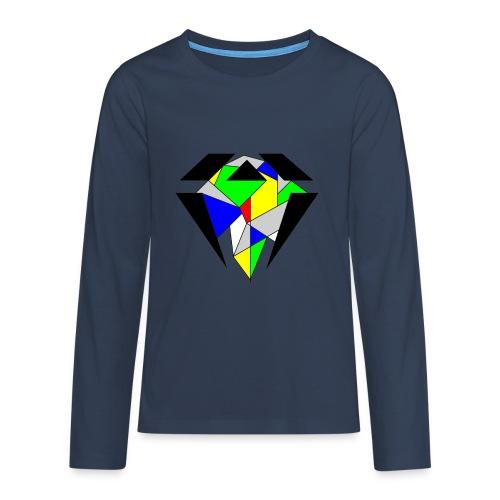 J.O.B. Diamant Colour - Teenager Premium Langarmshirt