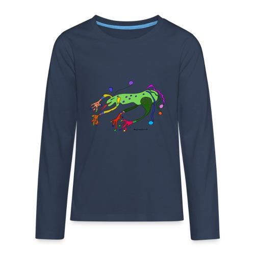 Kenzi - Teenager Premium Langarmshirt