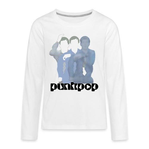 JD Post Punk PunkPop - Maglietta Premium a manica lunga per teenager