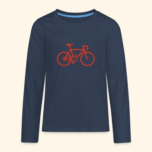Rennrad, Race-Bike, Fahrrad - Teenager Premium Langarmshirt