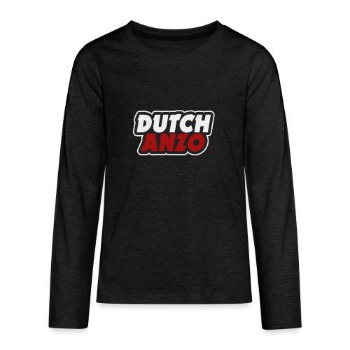 dutchanzo - Teenager Premium shirt met lange mouwen