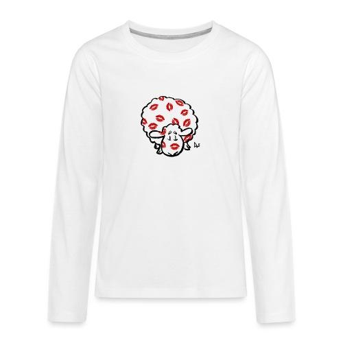 Kuss Mutterschaf - Teenager Premium Langarmshirt