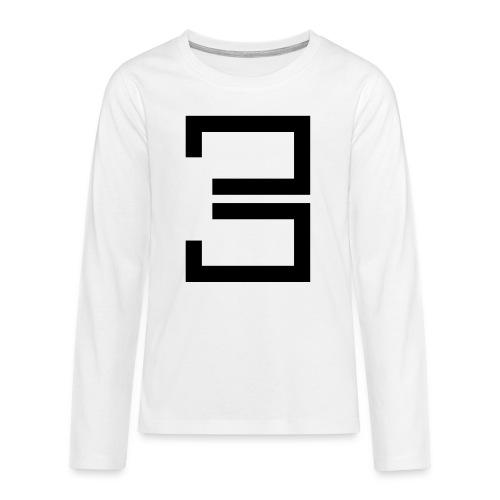 3 - Teenagers' Premium Longsleeve Shirt