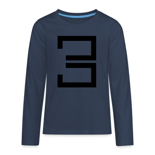 3 - Teenagers' Premium Longsleeve Shirt