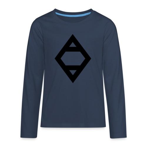O - Teenagers' Premium Longsleeve Shirt