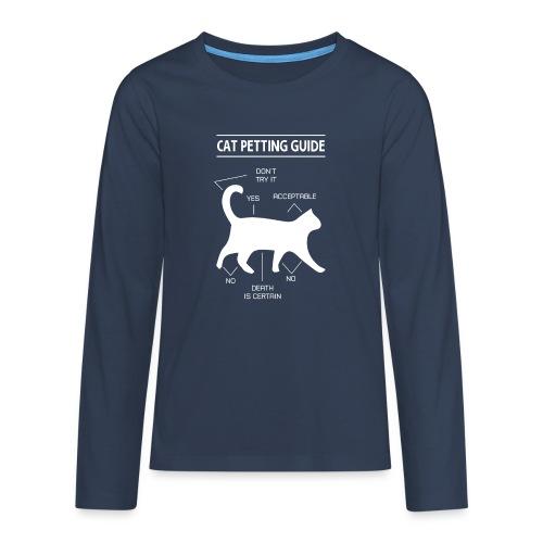 CAT GUIDE - T-shirt manches longues Premium Ado
