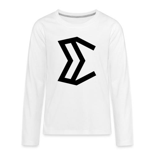 E - Teenagers' Premium Longsleeve Shirt