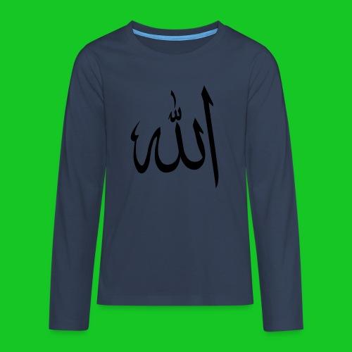 Allah - Teenager Premium shirt met lange mouwen