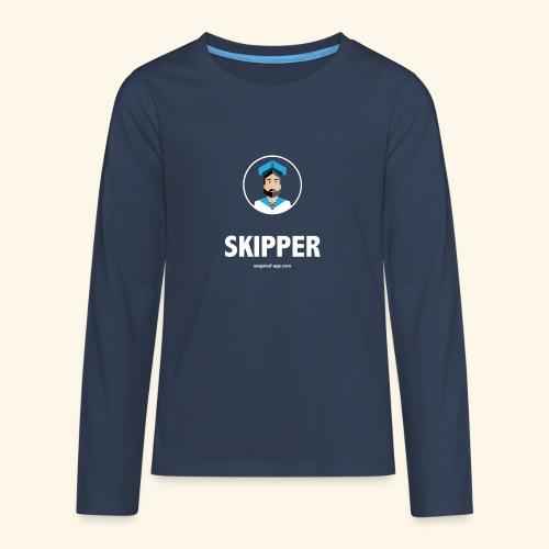 SeaProof Captain - Teenager Premium Langarmshirt