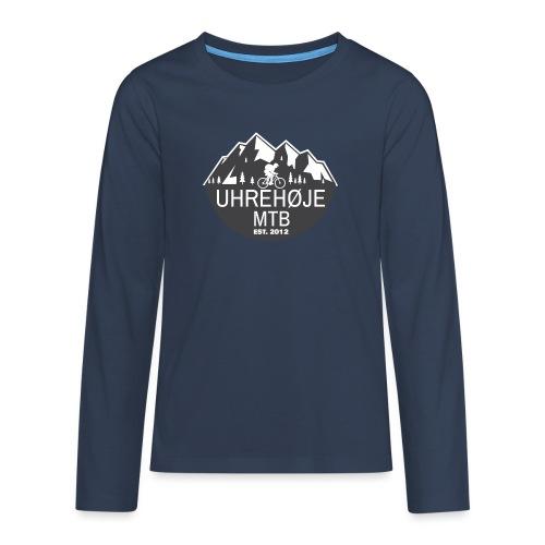UhreHøje MTB - Teenager premium T-shirt med lange ærmer