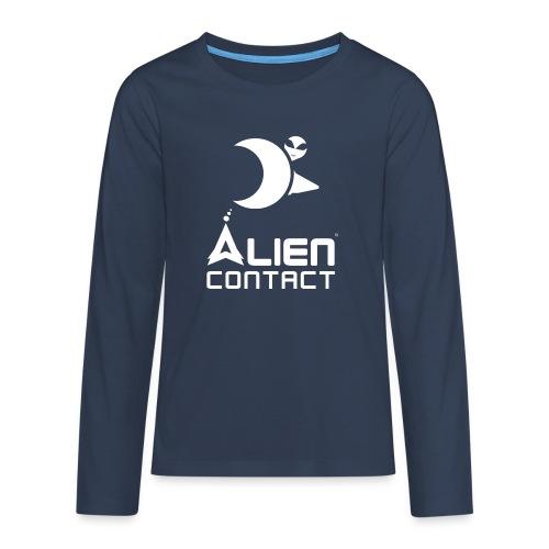 Alien Contact - Maglietta Premium a manica lunga per teenager