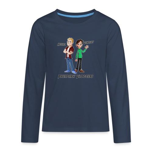 Hessel_Vincent - Teenager Premium shirt met lange mouwen