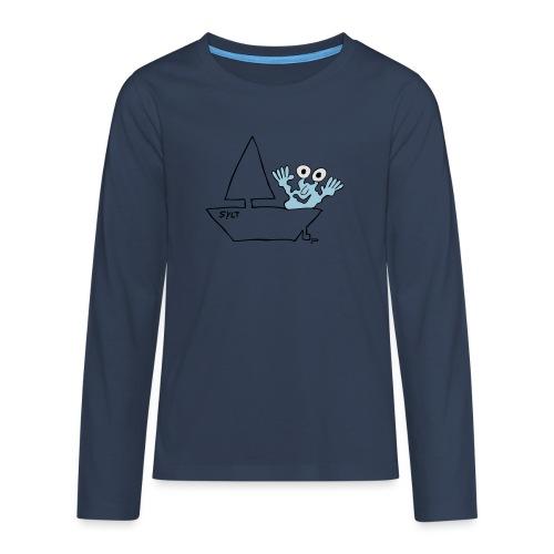 Segelmonster Sylt - Teenager Premium Langarmshirt