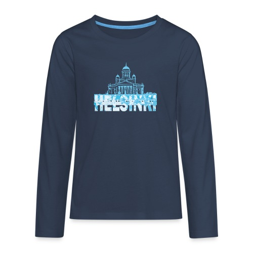 Helsinki Cathedral - Teenagers' Premium Longsleeve Shirt
