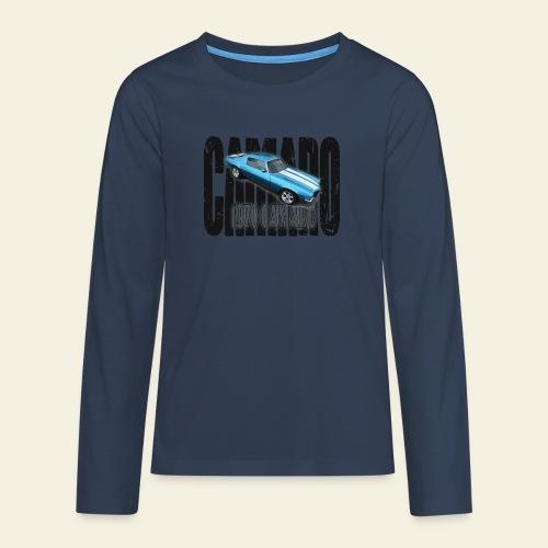 70 Camaro - Teenager premium T-shirt med lange ærmer