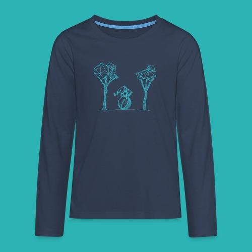 Rotolare_o_capitombolare_lightblu-png - Maglietta Premium a manica lunga per teenager