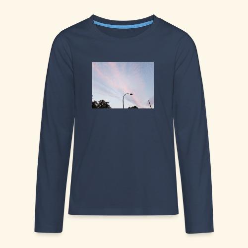 Abendhimmel - Teenager Premium Langarmshirt