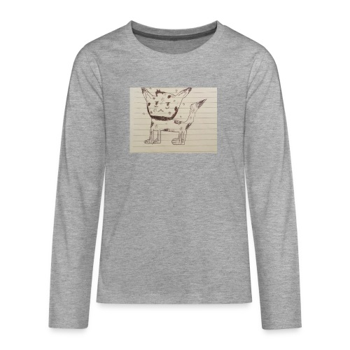 Wolf - Teenagers' Premium Longsleeve Shirt